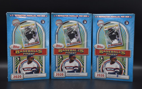 2020 Topps Finest Flashback Baseball Boxes!