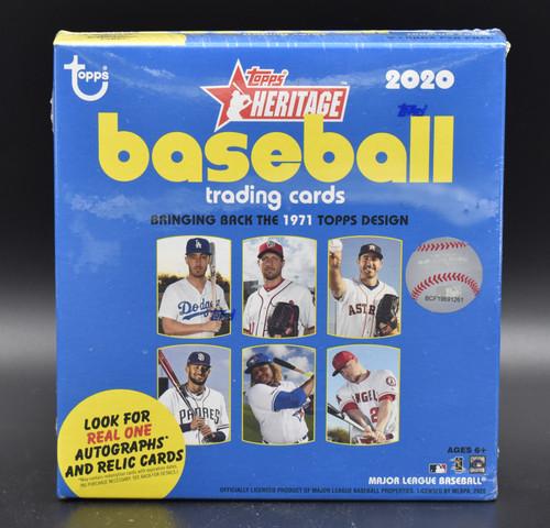 2020 Topps Heritage Baseball Mega Box