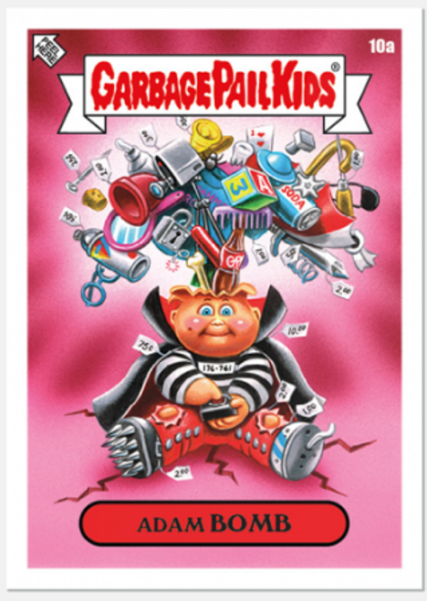 Garbage Pail Kids Bizarre Holidays: August - Week 2 (PRE-SALE)