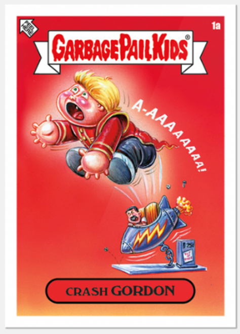 2020 Garbage Pail Kids: Crash Gordon 40th Anniversary (PRE-SALE)