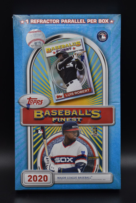 2020 Topps Finest Flashback Baseball Box!