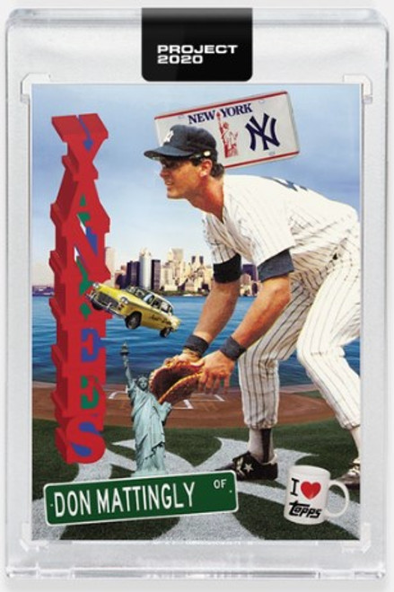 Topps Project 2020 Don Mattingly #278 by Don C - (PRE-SALE)