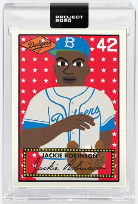 Topps Project 2020 Jackie Robinson #281 by Keith Shore- (PRE-SALE)