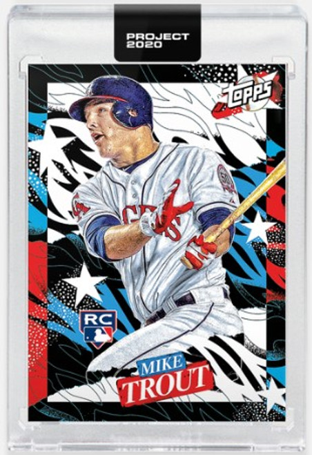 Topps Project 2020 Mike Trout #282 by Tyson Beck- (PRE-SALE)