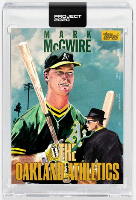 Topps Project 2020 Mark McGwire #283 by Jacob Rochester - (PRE-SALE)