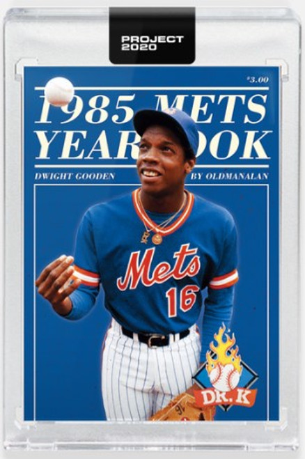 Topps Project 2020 Dwight Gooden #284 by Oldmanalan- (PRE-SALE)