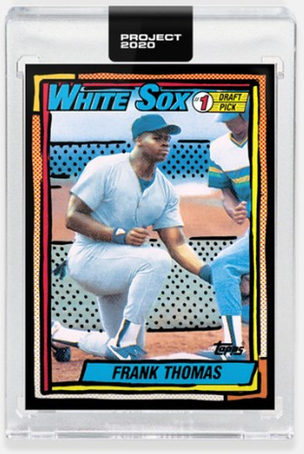 Topps PROJECT 2020 Frank Thomas #297 by Joshua Vides (PRE-SALE)