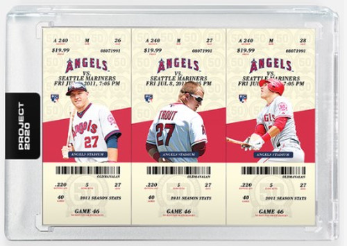 Topps Project 2020 Mike Trout #302 by Oldmanalan (PRE-SALE)