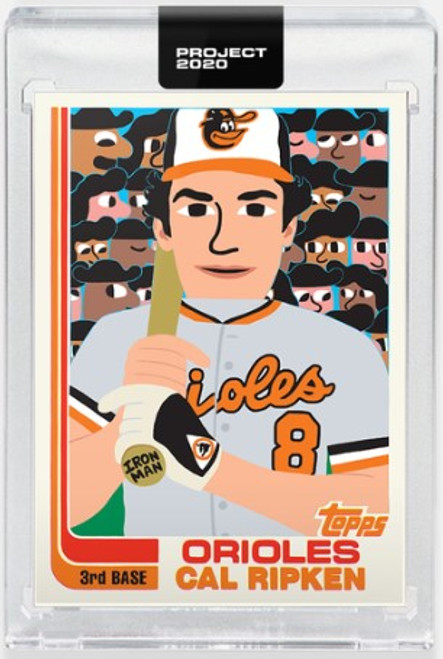 Topps Project 2020 Cal Ripken Jr. #303 by Keith Shore (PRE-SALE)