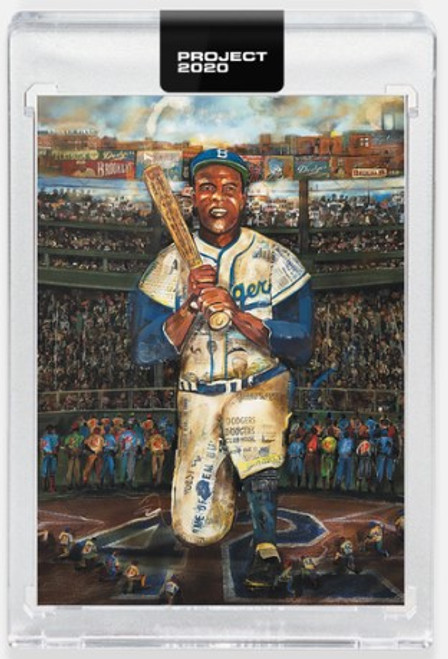 Topps Project 2020 Jackie Robinson #304 by Andrew Thiele(PRE-SALE)