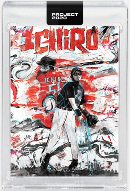 Topps Project 2020 Ichiro #319 by Andrew Thiele (PRE-SALE)