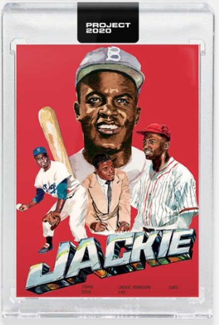 Topps Project 2020 Jackie Robinson #321 by Jacob Rochester (PRE-SALE)