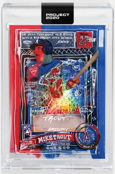Topps Project 2020 Mike Trout #325 by Gregory Siff (PRE-SALE)