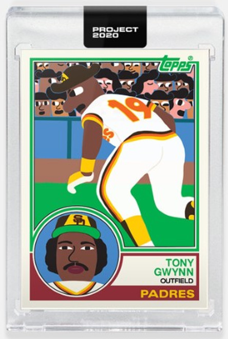 Topps Project 2020 Tony Gwynn #378 by Keith Shore (PRE-SALE)