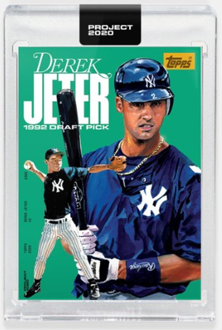 Topps Project 2020 Derek Jeter #381 by Jacob Rochester (PRE-SALE)