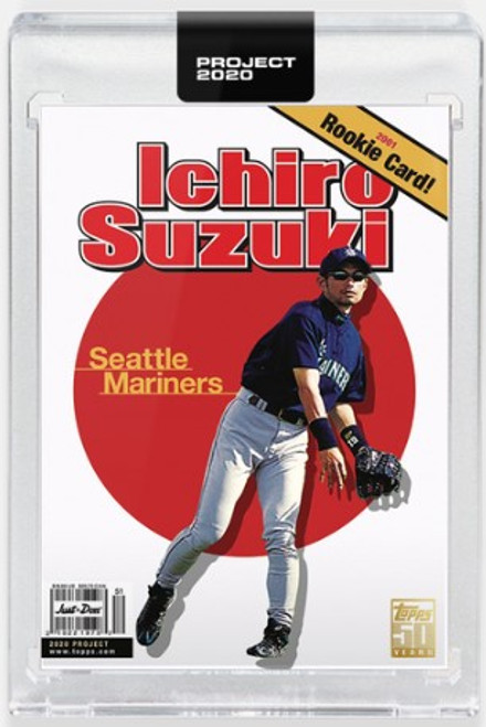 Topps Project 2020 Ichiro #395 by Don C (PRE-SALE)