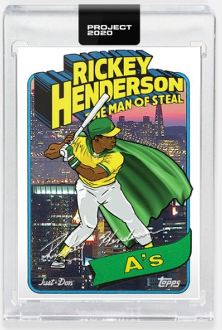 Topps Project 2020 Rickey Henderson #398 by Don C (PRE-SALE)