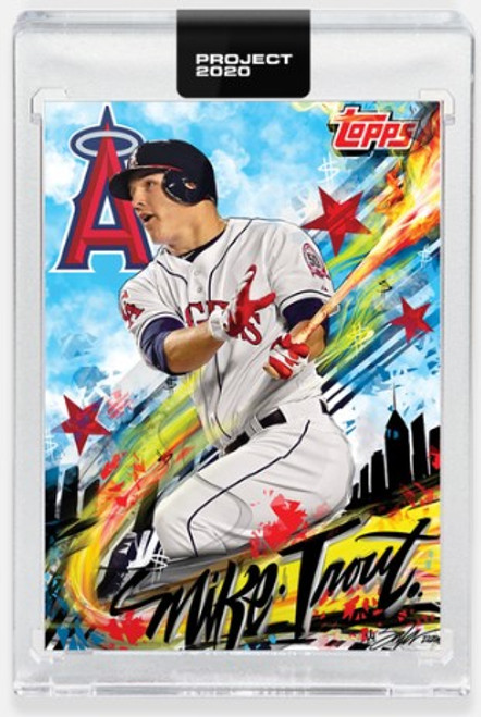 Topps Project 2020 Mike Trout #399 by King Saladeen (PRE-SALE)