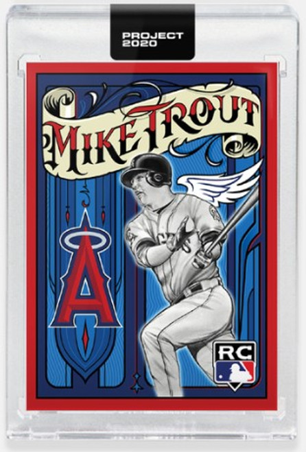 Topps Project 2020 Mike Trout #400 by Mister Cartoon (PRE-SALE)