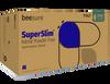 BeeSure SuperSlim PF Nitrile Exam Gloves, 300/bx, S