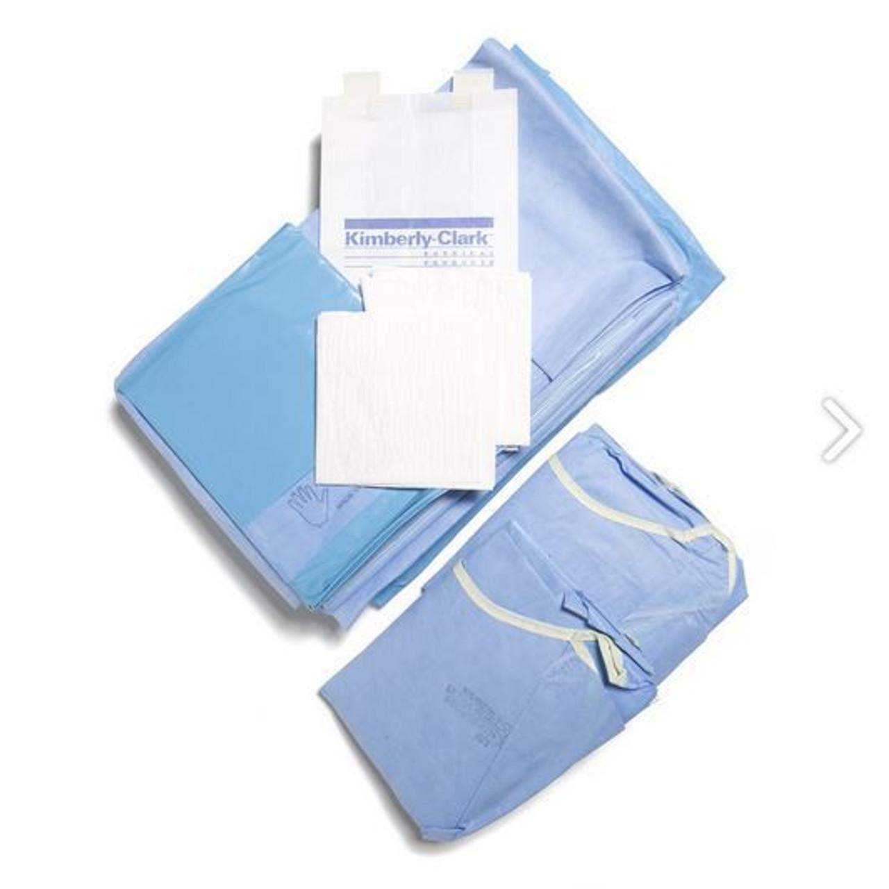 Halyard Kimguard Orthoarts Lower Extremity Pack Includes: Extremity Prep  Pad, Lower Extremity Drape 114