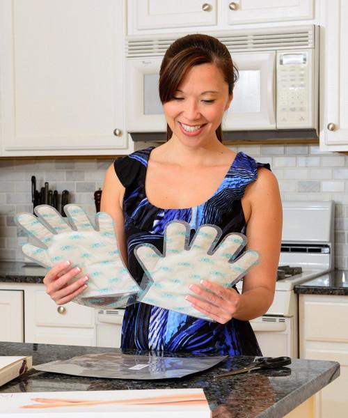 Glove Treat Glove - Paraffin Wax & Coconut Oil Hand Treatment, Md, 1 pair/bx Retail Pak