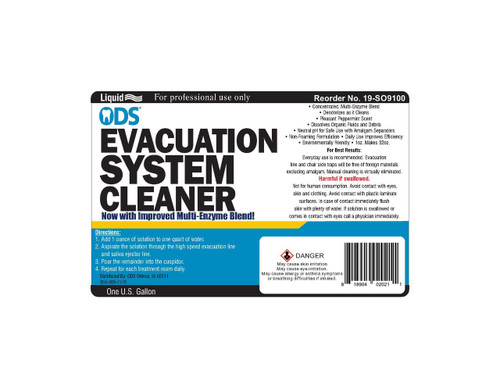ODS Evacuation Cleaner, Enzyme Non-Foaming 128 Treatments, Gallon
