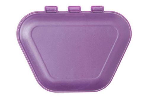 Zirc Imprinted Denture Box (24pk), Plum