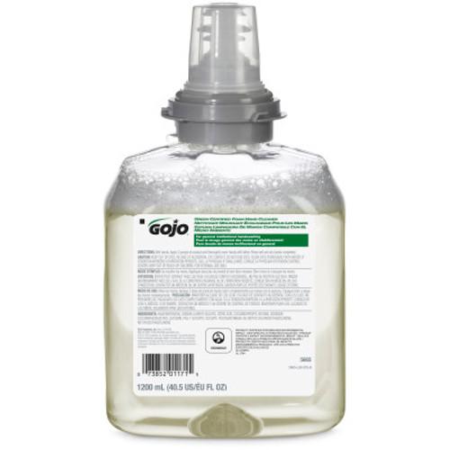 Gojo Green Certified Foam Hand Cleaner Soap, 1200ml Refill for Gojo TFX Dispenser, 2/case