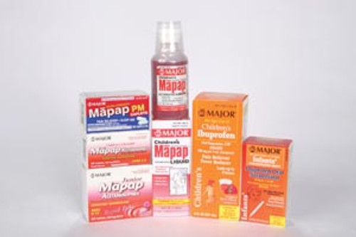 Major Children's Acetaminophen Oral Suspension, Cherry 118mL Compare to Tylenol NDC# 0094-6766-20