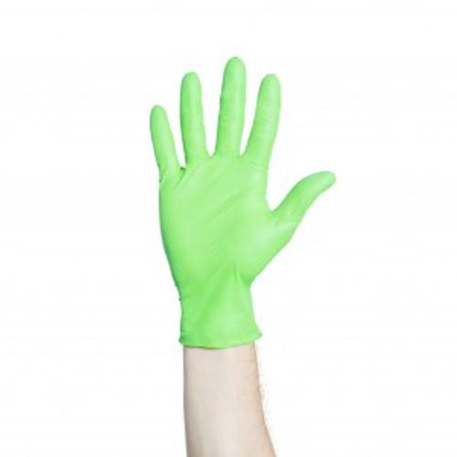 Halyard Flexaprene Green PF Exam Gloves, X-Small, 200/bx 44792