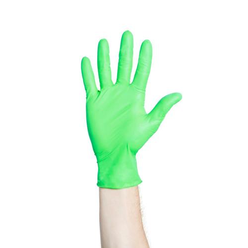 Halyard Flexaprene Green PF Exam Gloves, Large, 200/bx 44795