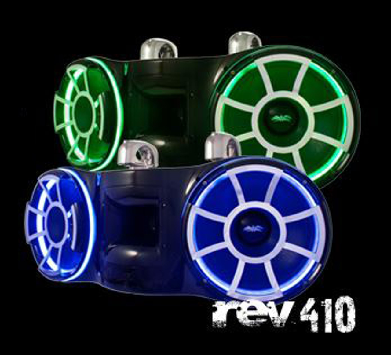 Rev 410 with LED Rings