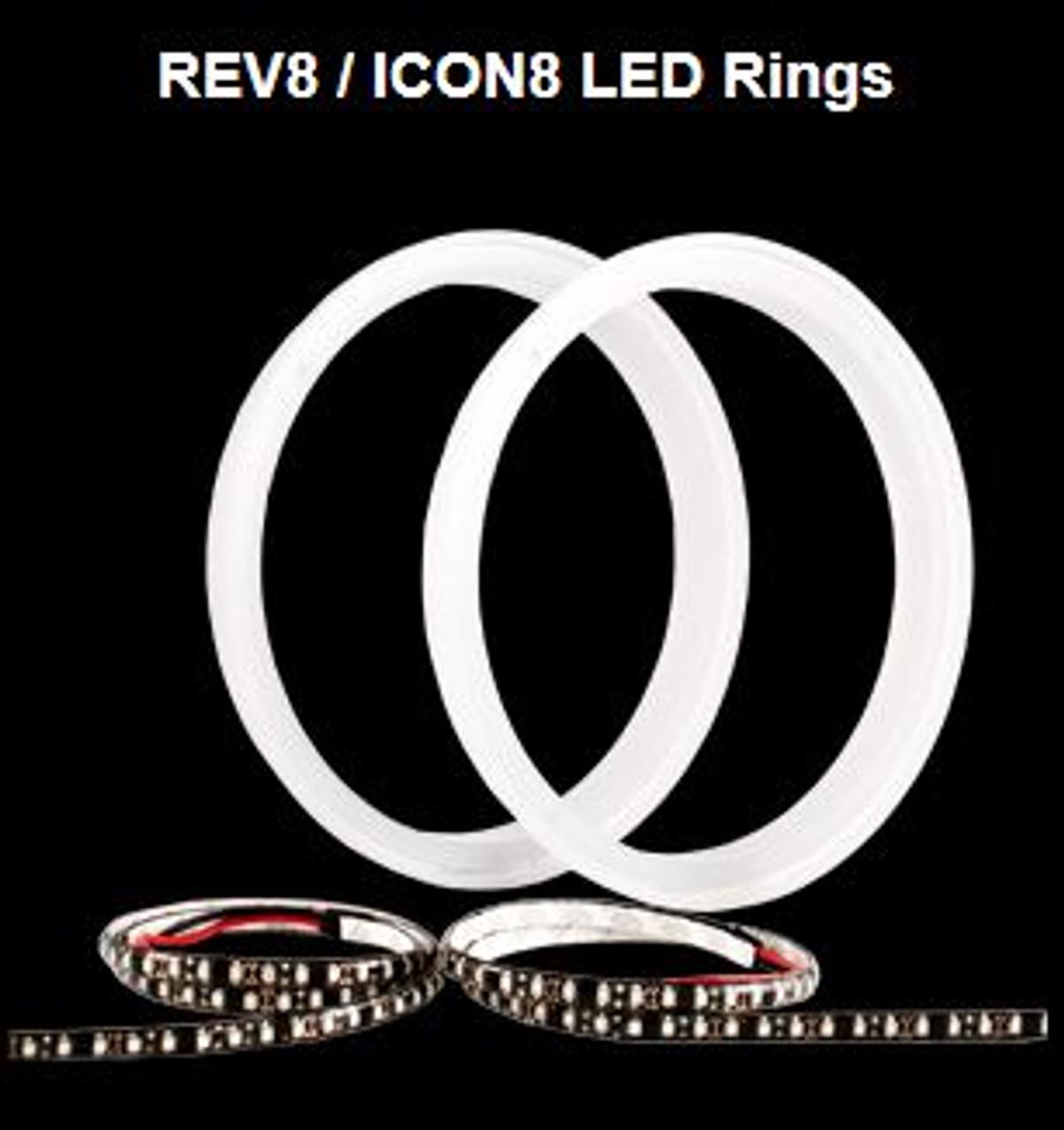 Rev 8 LED Rings