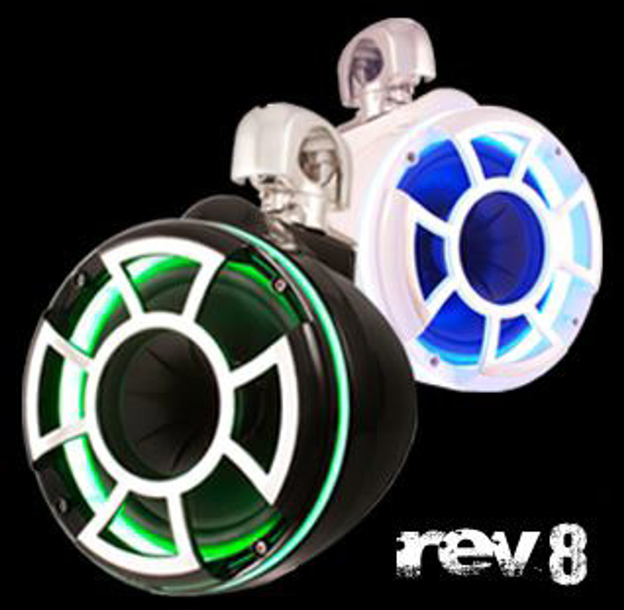 Rev 8 with LED Rings