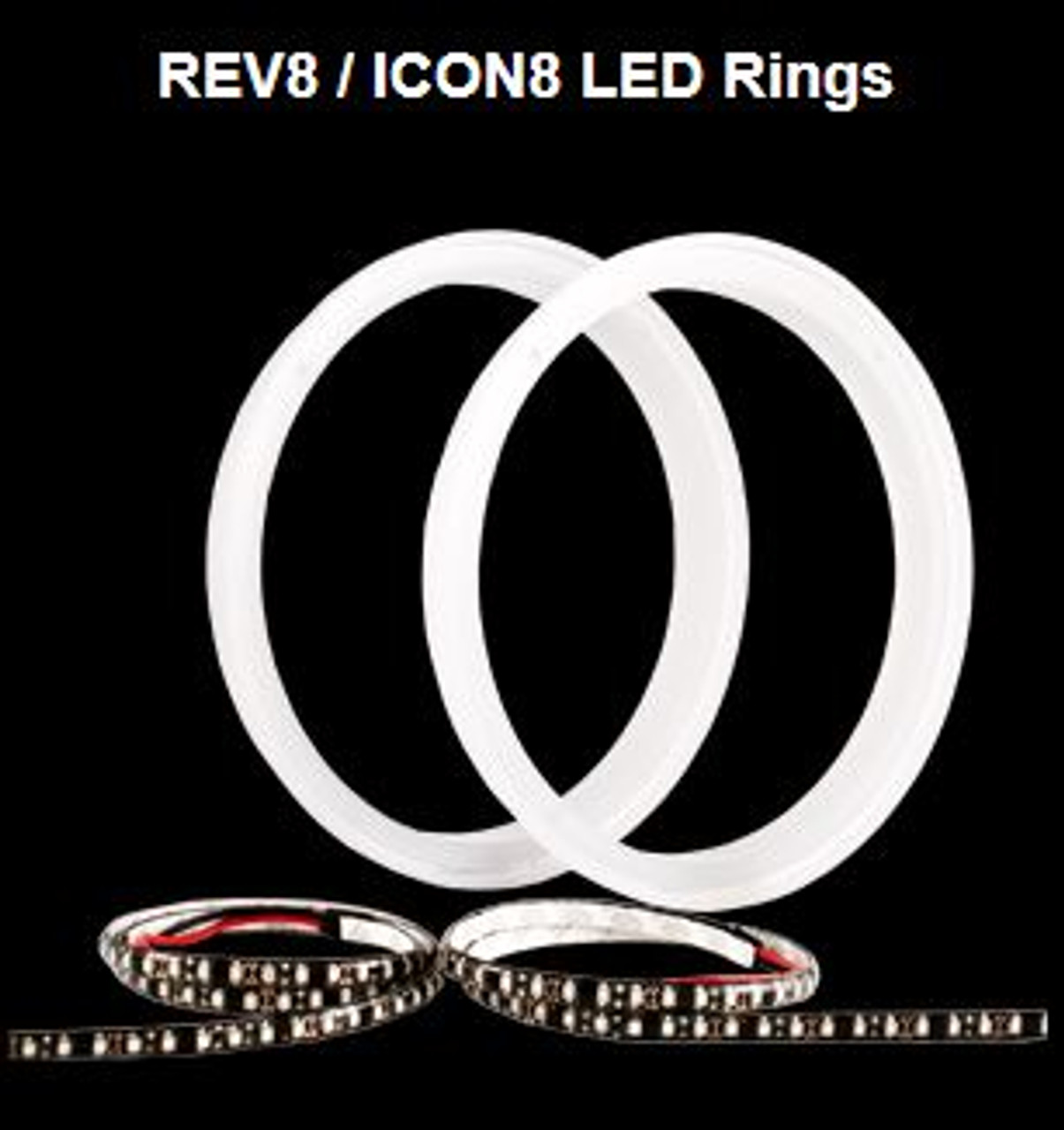 Icon 8 LED Rings