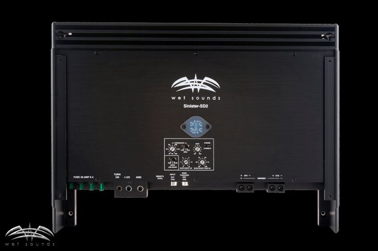 Sinister 2 channel amplifier