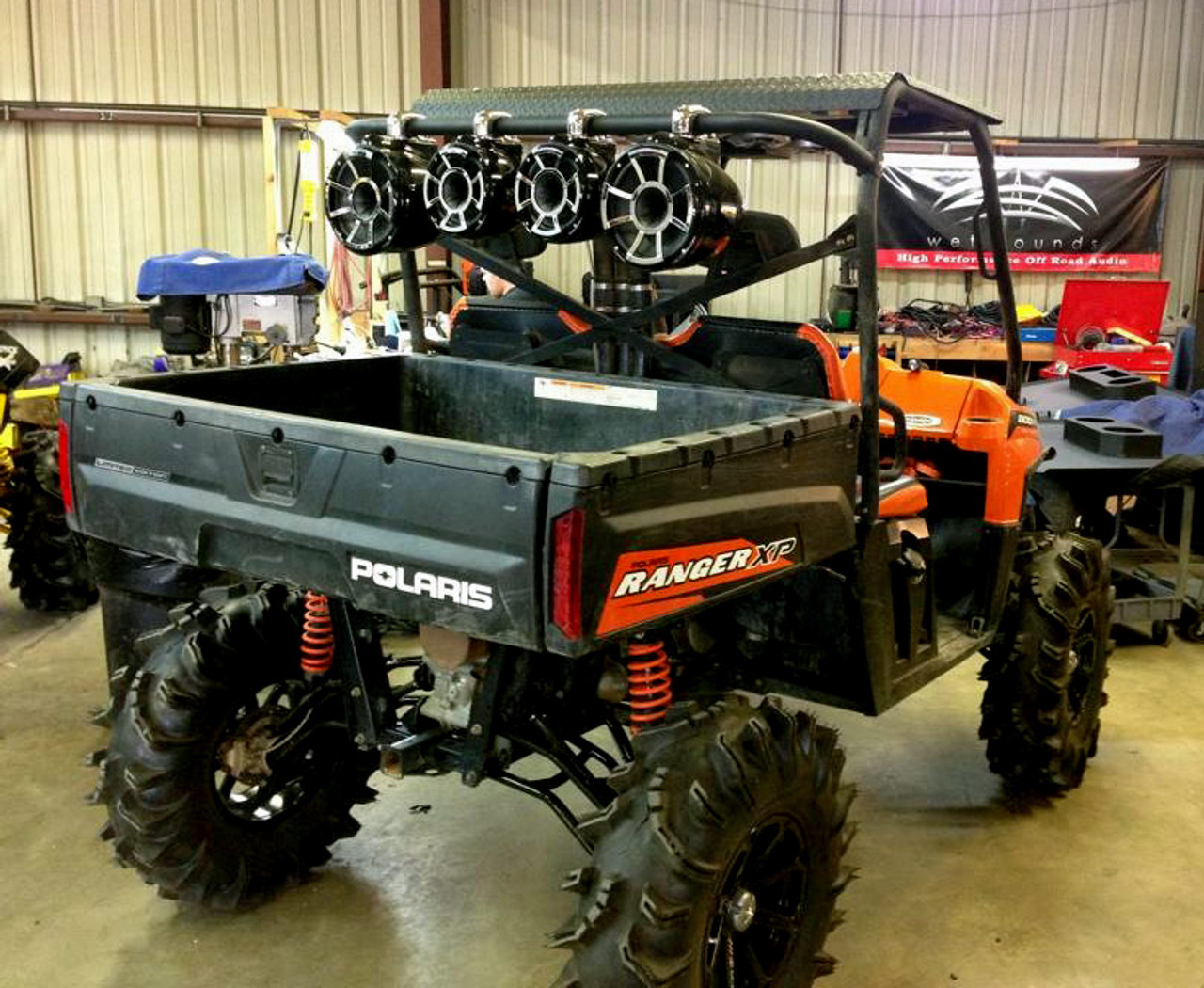 polaris ranger 800 side mount waketower bar offroad. Black Bedroom Furniture Sets. Home Design Ideas