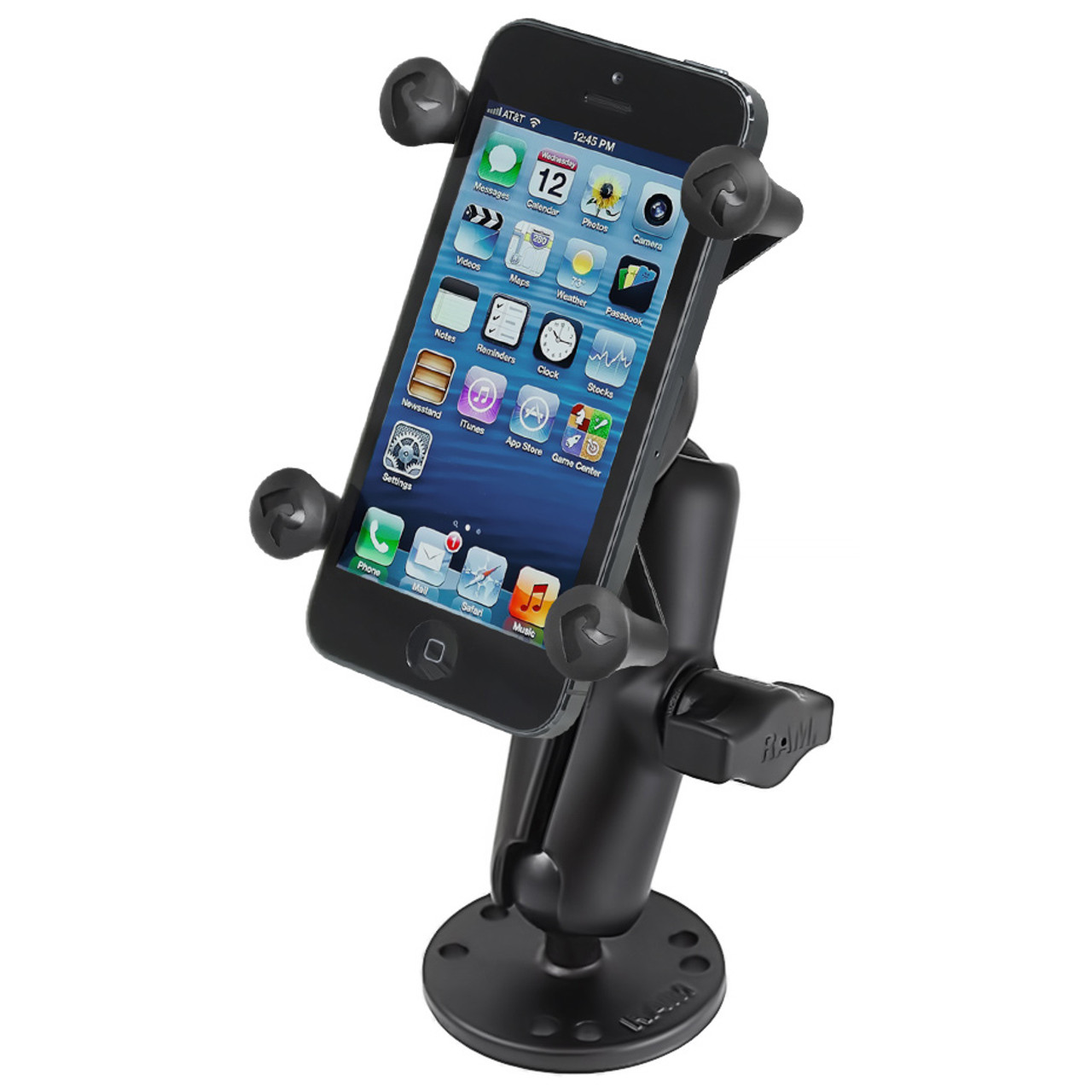 Ram Flat Surface Mount with X-Grip Phone Holder
