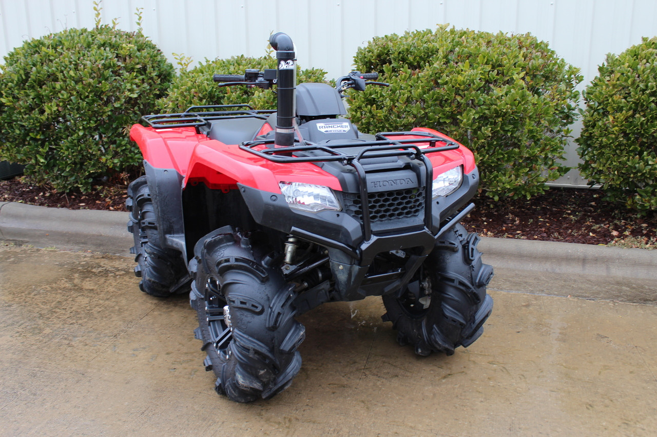 Honda Rancher 420 14 17 Extreme Snorkels Kit Offroad Sound Systems