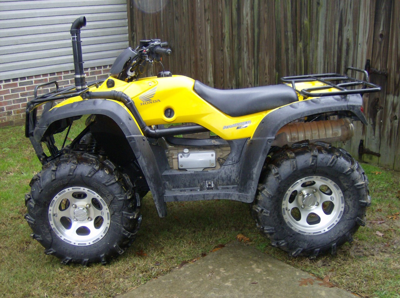 Honda Rancher 350 Extreme Snorkels Kit Offroad Sound Systems