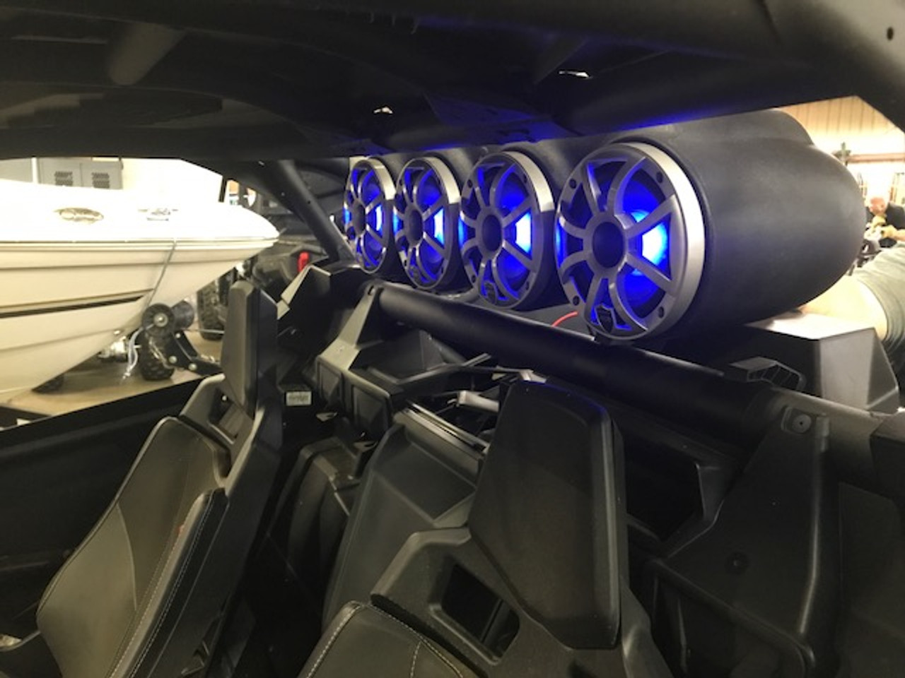 All in One shown installed on a Maverick X3