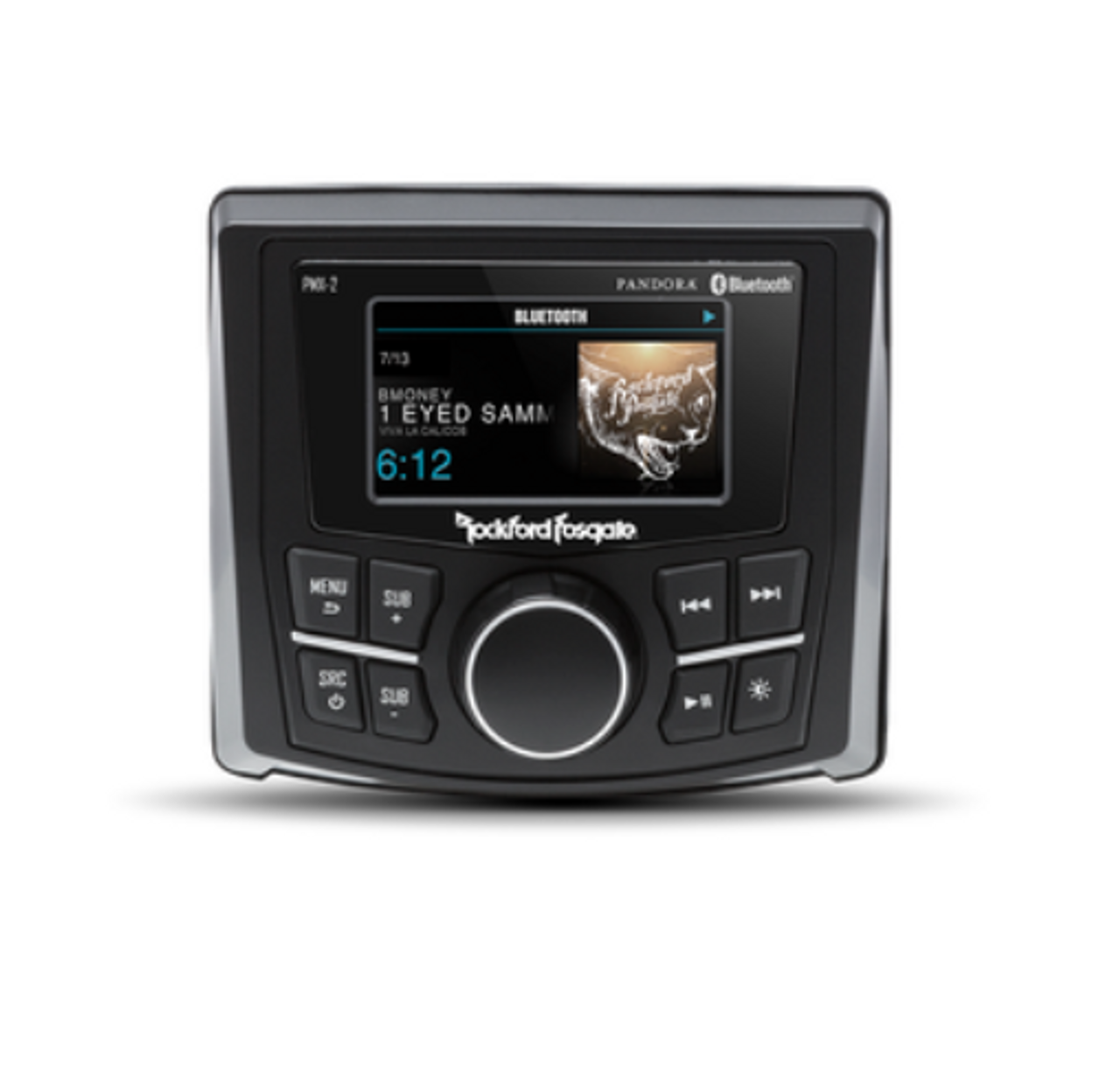 """Rockford Fosgate PMX-1R 2.7/"""" Marine Stereo Wired Remote Control for PMX Receiver"""
