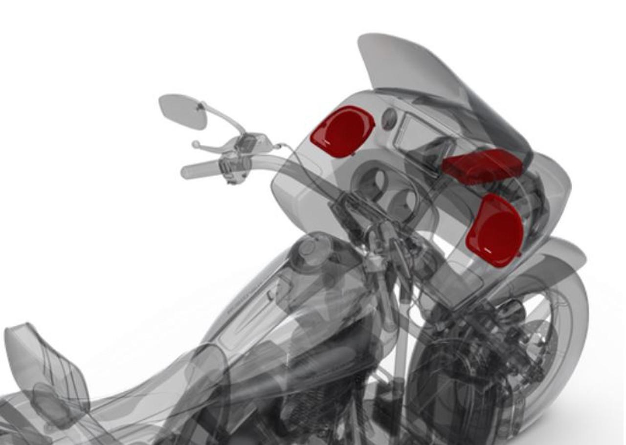 HD 14 Power Harley-Davidson® Street Glide® (2014+) & Road Glide® (2015+) Front Audio Kit