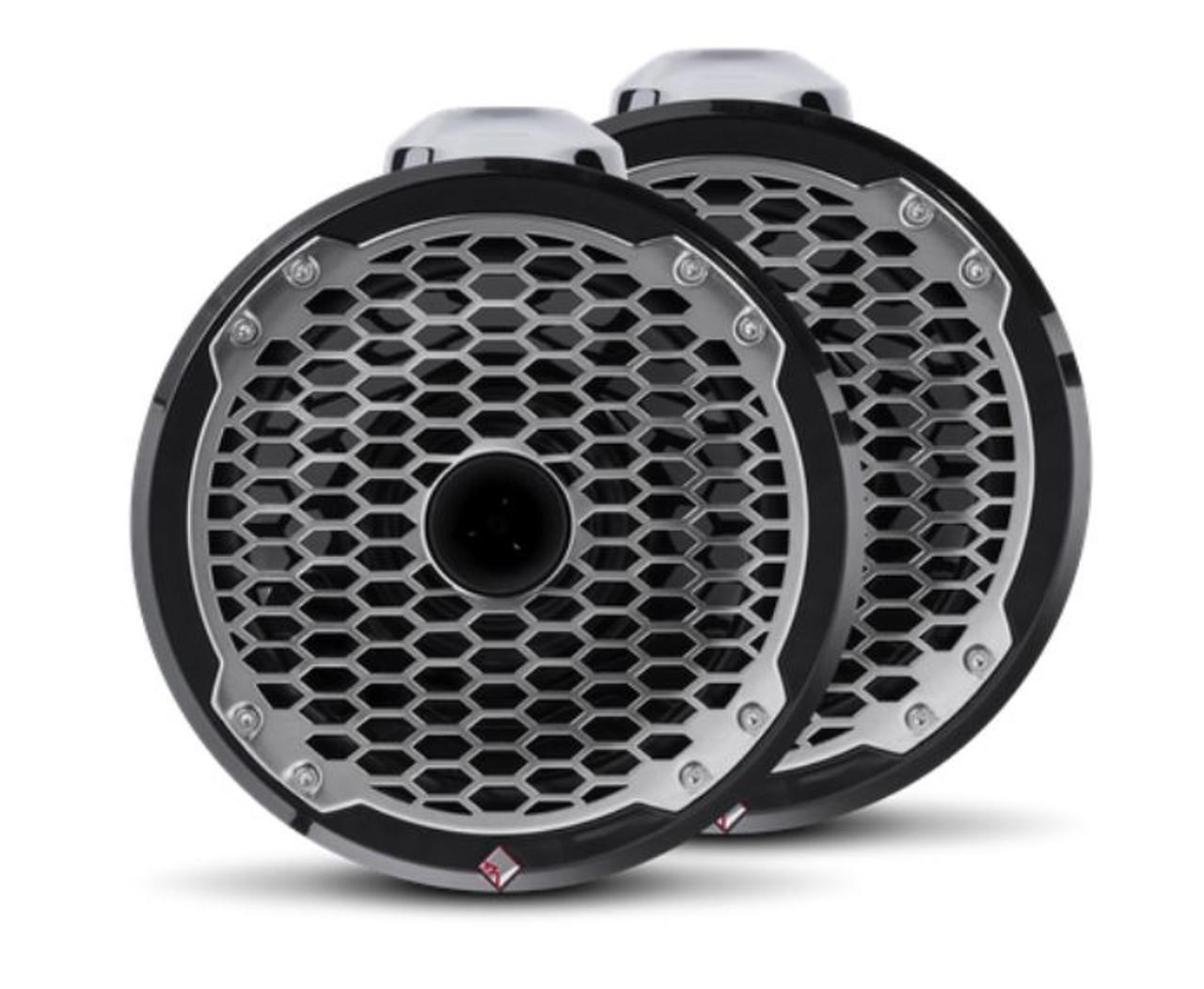 """Punch Marine 8"""" Wakeboard Tower Speakers - Black"""