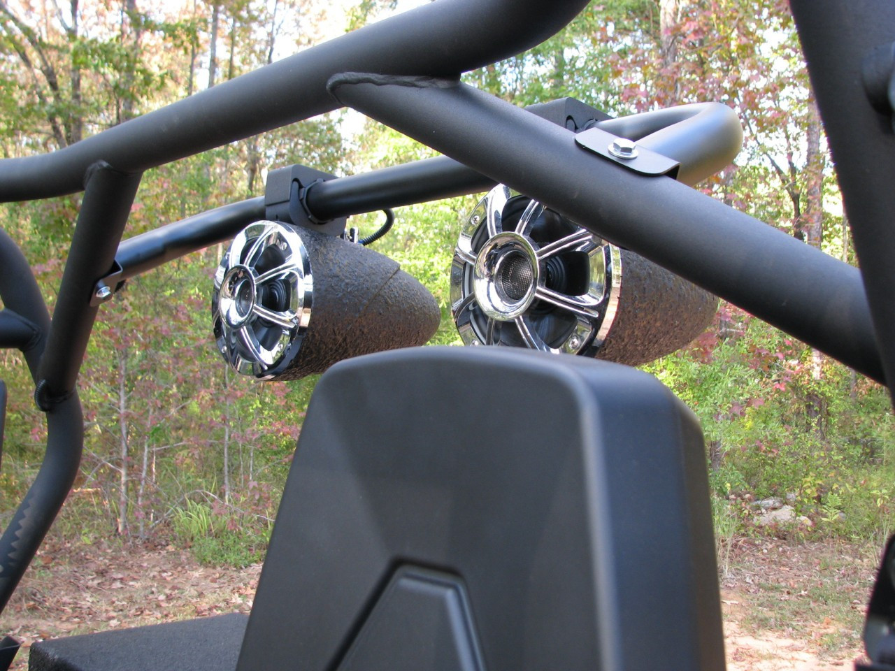 Can Am Commander (shown with Tsunami Waketower Marine Speakers)