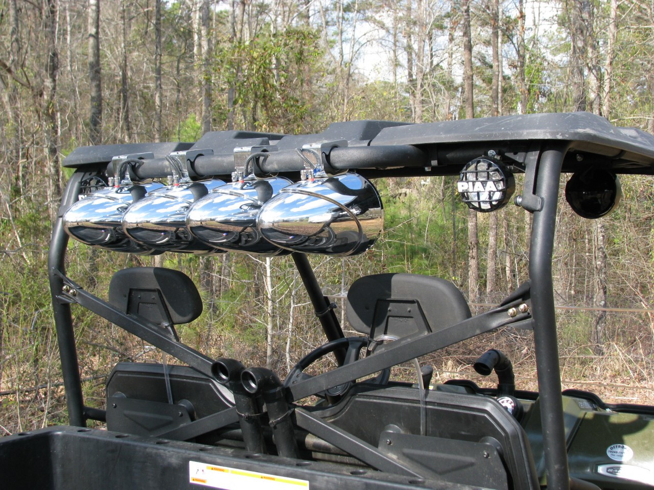 "35"" Waketower bar (shown with Tsunami Marine Waketower Speakers)"