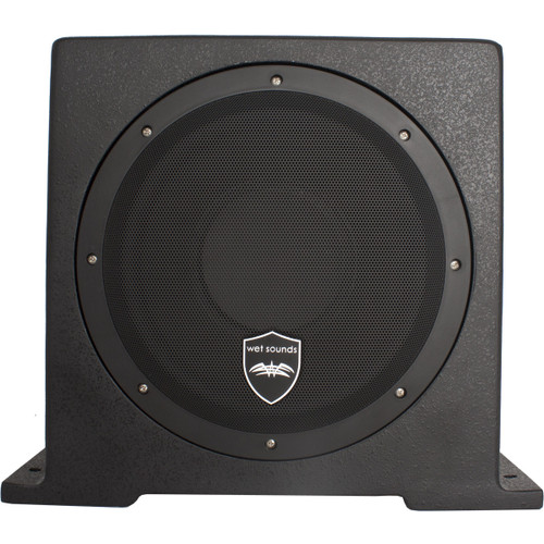 "10"" Enclosed Marine Subwoofer w/Built In 500 watt Amplifier"