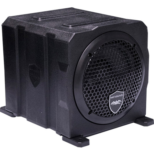 "6"" Enclosed Marine Subwoofer w/Built In 500 watt Amplifier"