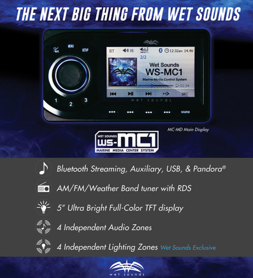 Wet Sounds Marine Media Center System